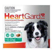 Buy Heartgard Plus Chewables for Medium Dogs Upto 12 to 22kg Green