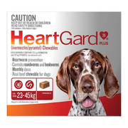 Buy Heartgard Plus Chewables for Large Dogs Upto 23 to 45kg Brown Pack