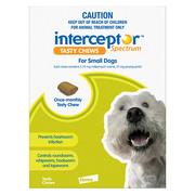 Buy Interceptor Spectrum Tasty Chews For Small Dogs 4 to 11kg Green