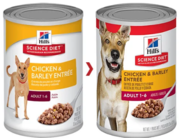 Hills Science Diet Adult Chicken And Barley Entree Canned