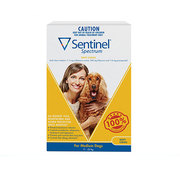 Buy Sentinel Spectrum Chews For Medium Dogs Up to 11 to 22kg Yellow