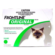 Buy Frontline Original for Cats 4 Pack|Flea Treatment | VetSupply