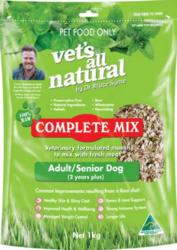 Buy Vets All Natural Complete Mix Adult And Senior Dog Food Online-Vet