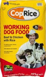 Buy CopRice Adult Working Beef,  Veg & Brown Rice  Dog Food Online -Vet