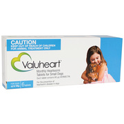 Buy Valuheart Heartworm for Small Dogs upto 10kg Blue Pack|Pets Worm