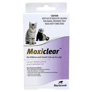 Buy Moxiclear for Kittens and Small Cats upto 4 kg Purple |Pets Worm